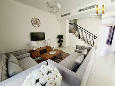 3 Bedroom Townhouse for Sale in Akoya Oxygen, Dubai - lower than the construction cost 3BR furnished
