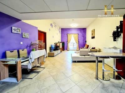 شقة 1 غرفة نوم للبيع في موتور سيتي، دبي - Upgraded and Furnished | Spacious with Big Terrace