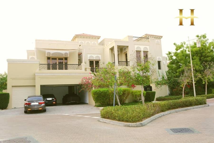 20 Spacious Luxury Villa with 6 Bedroom in Al Barari