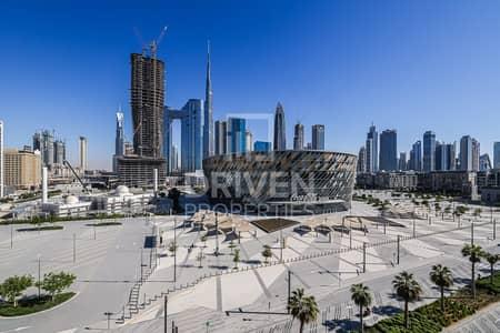 شقة 2 غرفة نوم للايجار في جميرا، دبي - Arena View | High floor Unit | 4 Cheques