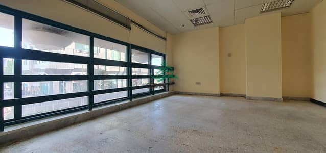 Office Space  In Khalidiya Main Road  with prime location