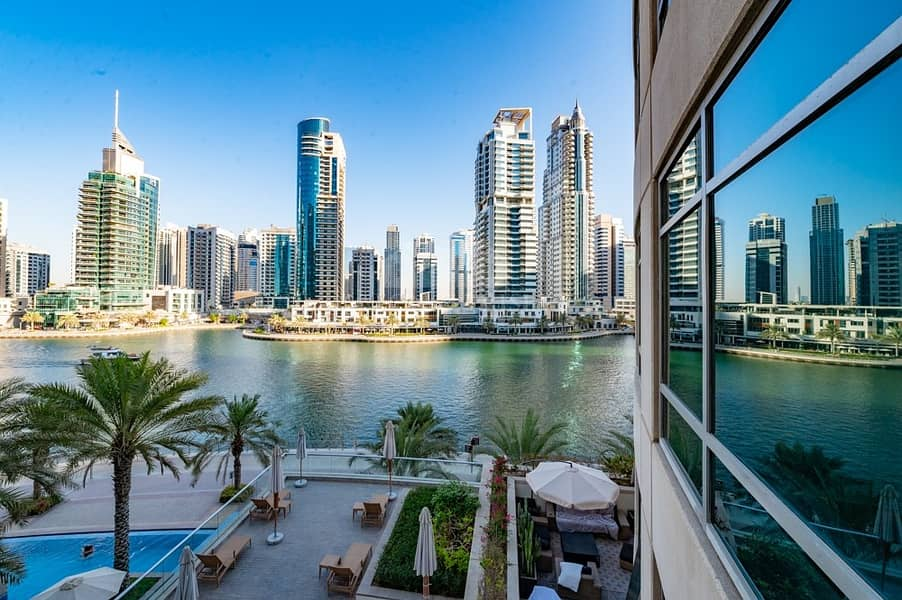 Unfurnished 1 bed | Full Marina View | Ready to move in