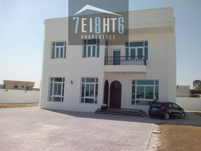 Fully renovated: 4 b/r independent personally designed villa + excellent finishing + maids room + landscaped garden