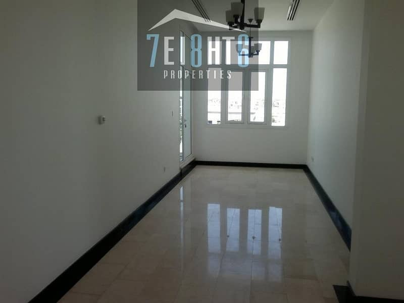 2 Fully renovated: 4 b/r independent personally designed villa + excellent finishing + maids room + landscaped garden