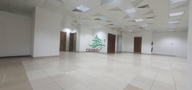 Office for Rent in Tourist Club Area (TCA), Abu Dhabi - Office space open area in Tourist club