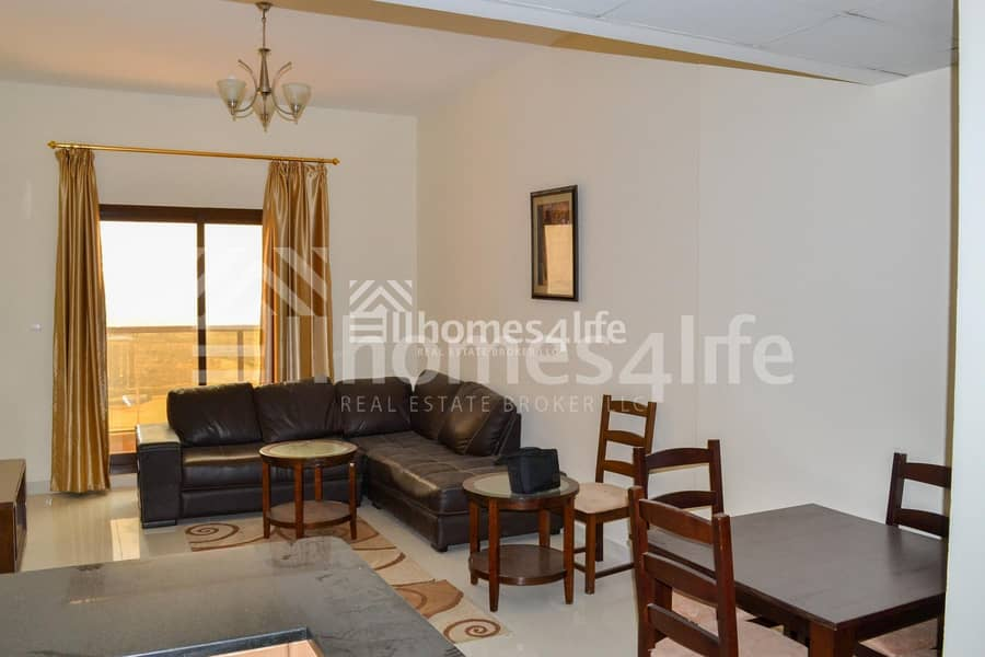 2 Amazing Deal  Semi-furnished 1 BR Apartment
