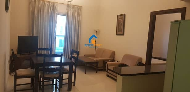 1 Bedroom Flat for Rent in Dubai Sports City, Dubai - FULLY FURNISHED 1BHK IN ELITE 05 - DSC