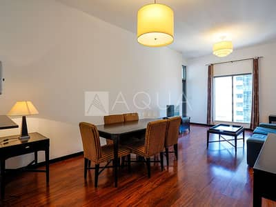 1 Bedroom Flat for Rent in Jumeirah Lake Towers (JLT), Dubai - Upgraded | Furnished 1 Bed | Full Lake View