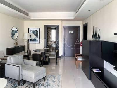 فلیٹ 1 غرفة نوم للايجار في وسط مدينة دبي، دبي - Mid Floor | All Inclusive | Fully Furnished