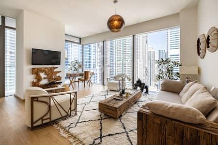 2 Bedroom Apartment for Rent in Dubai Marina, Dubai - Stylish & Cozy 2 Beds in Marina Gate 1