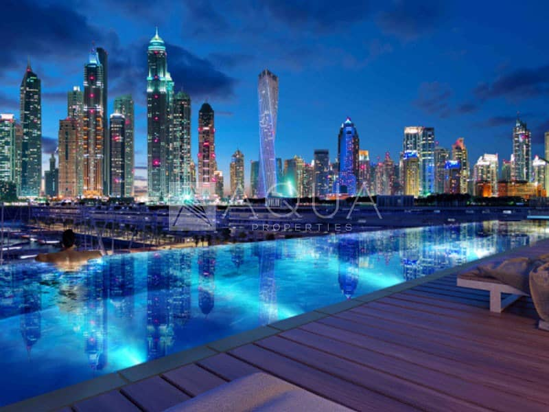 11 Dubai Eye View | Beach Access | 3Y PHPP