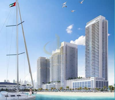2 Bedroom Apartment for Sale in Dubai Harbour, Dubai - Seafront dream right from your door| With Beach Access