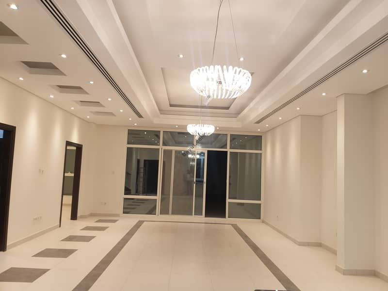 Brand new luxury 4bhk villa rent 100k in 4cheque in Al Tai Area