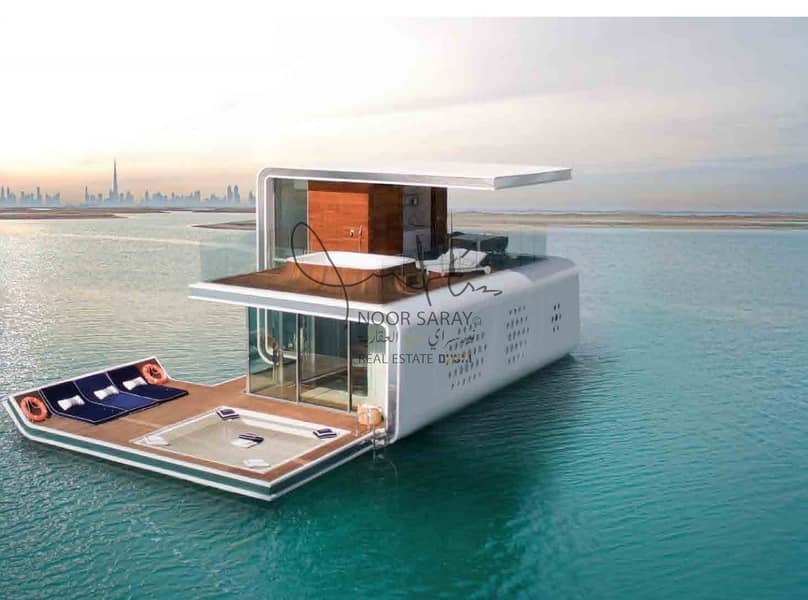 10% ROI for 10 years | luxurious floating villa