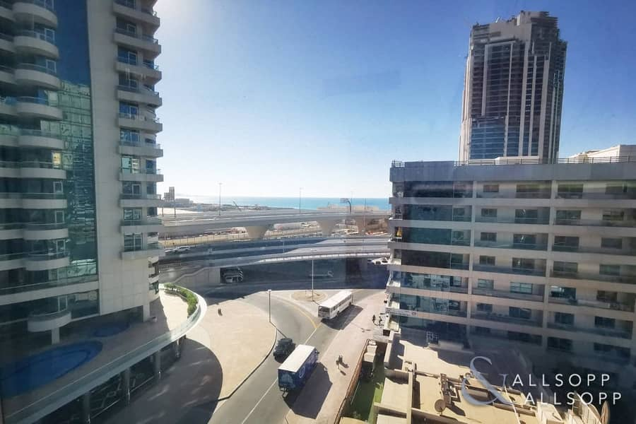 1 Bedroom | Unfurnished | Partial Sea View