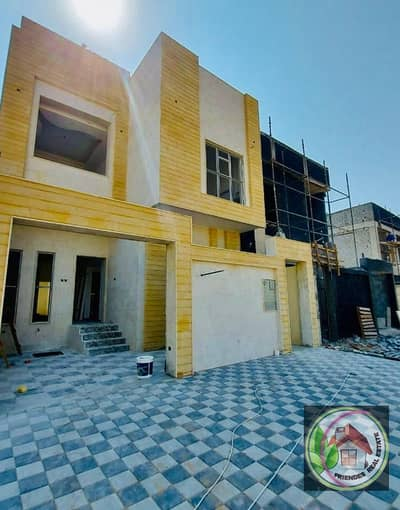 The most luxurious villa in Ajman, in the Jasmine area, faces a stone, freehold for all nationalities from the direct owner