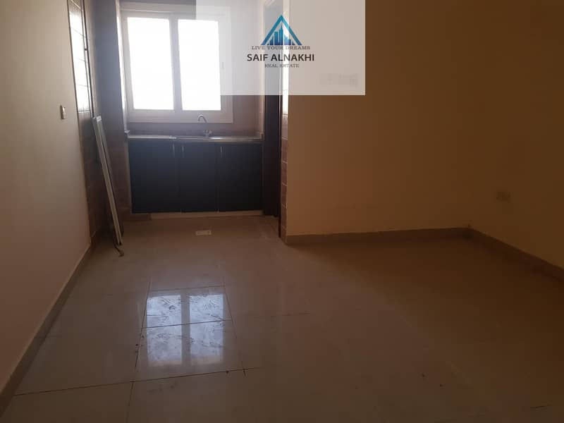 12 Spacious Studio Flat Separate khichan With Central Ac Just 11k In Muwaileh Sharjah
