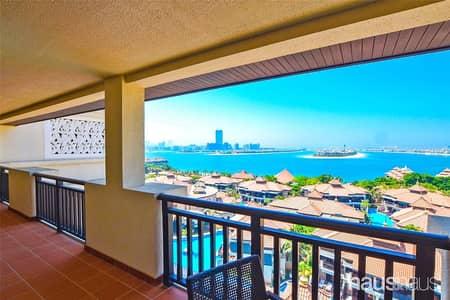 بنتهاوس 1 غرفة نوم للايجار في نخلة جميرا، دبي - Centre Sea View | x6 Cheques | Beach and Pool
