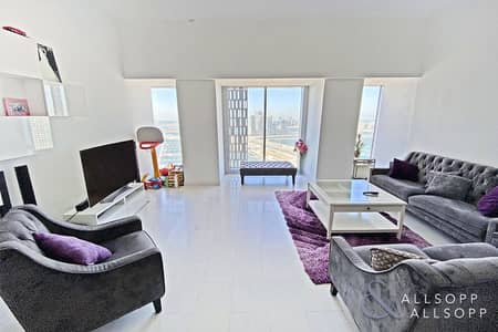2 Bedroom Apartment for Sale in Dubai Marina, Dubai - High Floor | Large Layout | 2 Bed | Vacant