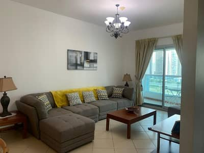 1 Bedroom Flat for Sale in Dubai Marina, Dubai - 1 bedroom/furnish/ next to metro