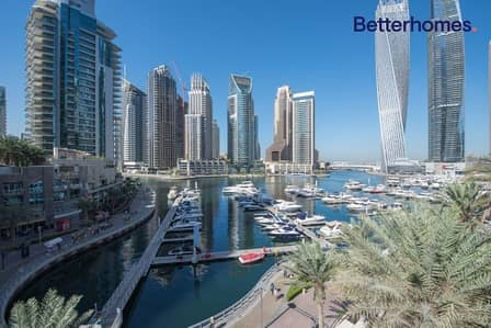 4 Bedroom Villa for Rent in Dubai Marina, Dubai - Triplex Villa I Full Marina View I Chiller Free