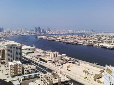 Studio for Rent in Ajman Downtown, Ajman - Sea-view!! Studio Flat for Rent in Pearl Towers, Ajman