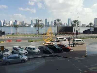مکتب  للايجار في المجاز، الشارقة - 4000 sqft ready to move office in 180k only in al majaz area