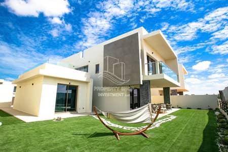 فیلا 4 غرف نوم للبيع في جزيرة ياس، أبوظبي - Impressive & Luxurious  Single Row Corner Villa