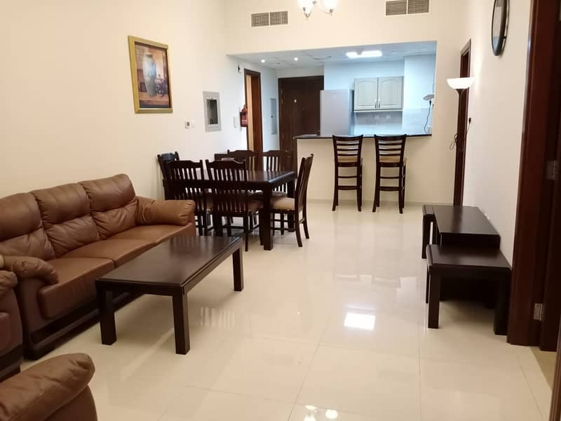 Fully Furnished   Spacious 1 Bedrooms   29K