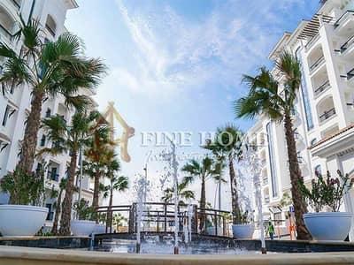 3 Bedroom Apartment for Sale in Yas Island, Abu Dhabi - Pool View Huge 3BHK in Ansam W/ 2 big balconies!