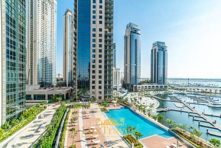 2 Bedroom Flat for Rent in The Lagoons, Dubai - Lux BnB 2BR Amazing Skyline & Marina Views