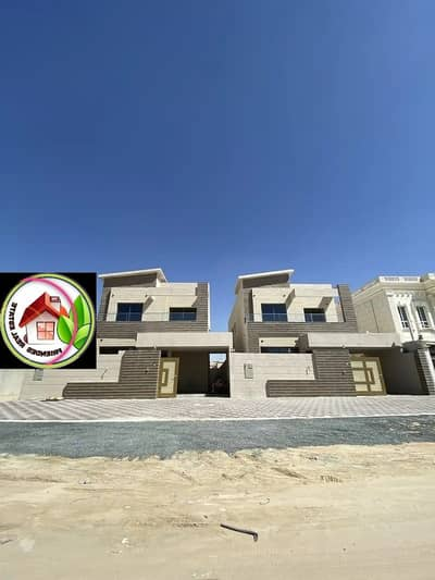 Exclusive villa for urgent sale, Ajman, very excellent location, the price is attractive%