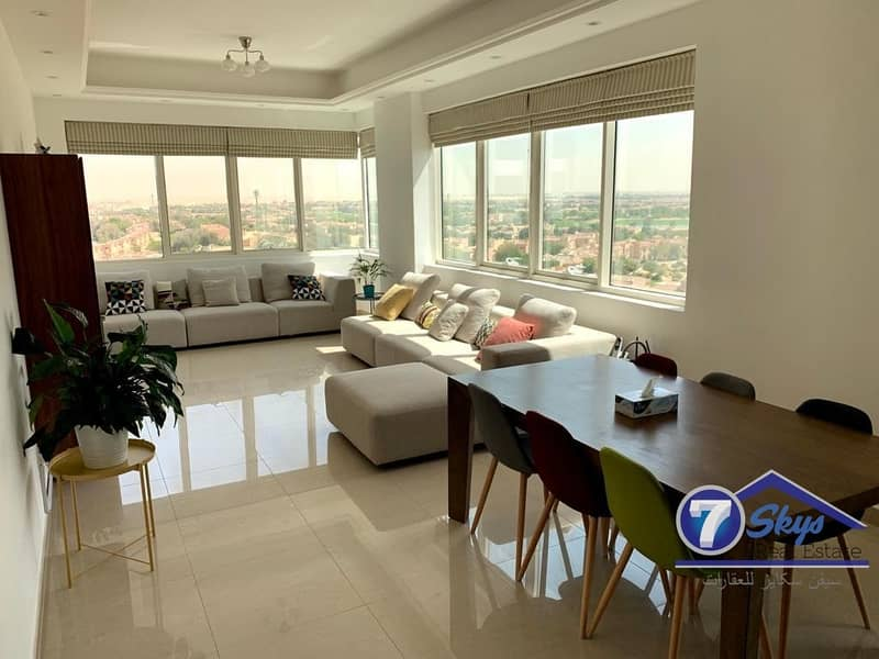 2 Alert! Large 2BHK Sports City-Golf View for Rent