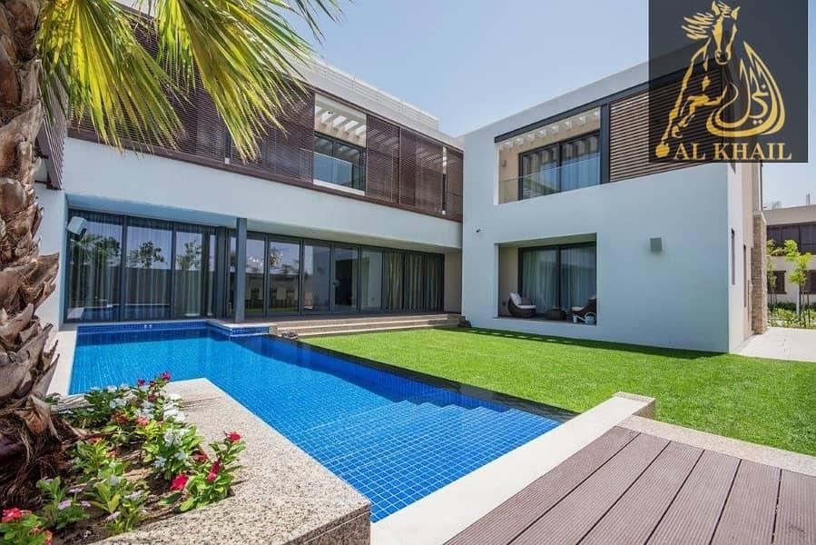 2 Luxurious 4br + Maid Villa Sobha Hartland Ready