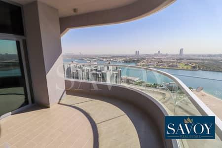 3 Bedroom Apartment for Rent in Al Reem Island, Abu Dhabi - Brand New Modern 3BR Flat, Balcony, Sea View