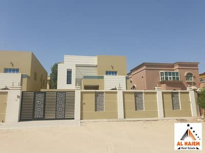 Sale: A new luxury modern European villa in Al Mowaihat 3 area close to the main street with the possibility of bank or cash financing