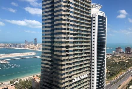 3 Bedroom Flat for Rent in Dubai Marina, Dubai - 3+Maids Sulafa tower high floor 60+Floor