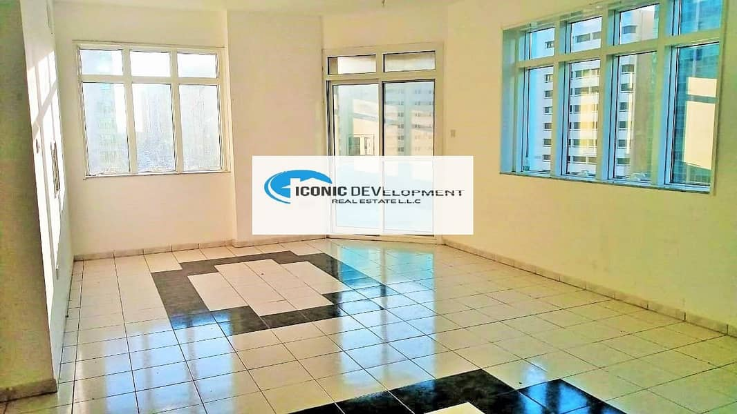 3bed room with balcony on la falah street with affordable price