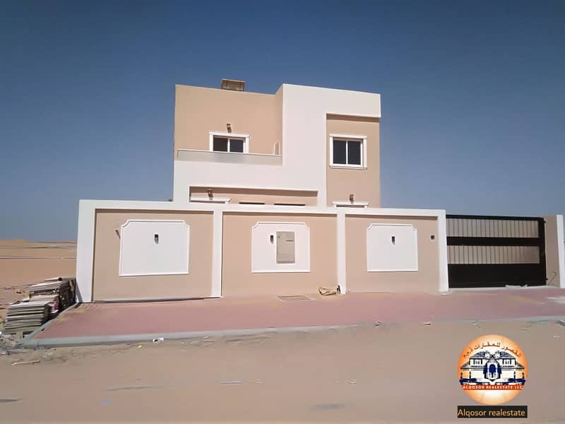 With easy monthly installments, you own a villa in Ajman on the bank road, free ownership for all nationalities