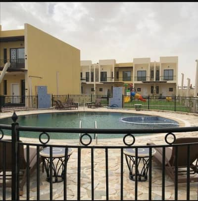 2 Bedroom Villa for Rent in Dubai Industrial Park, Dubai - Limited time offer, Independent 2 bedroom town house Villas For rent in Sahara Meadows 2