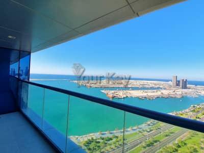 شقة 3 غرف نوم للايجار في منطقة الكورنيش، أبوظبي - Luxurious 3 BHK in Skyline of Saraya Corniche