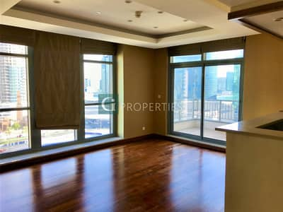 1 Bedroom Flat for Rent in Downtown Dubai, Dubai - Semi Furnished | Wooden Floors | Spacious