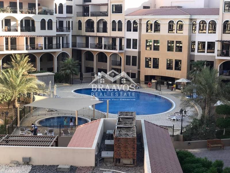 17 Upgrade 1B/R Apt. | Huge Balcony | Pool View