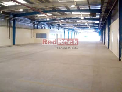 35850 Sqft Warehouse with Office and Open yard in Jebel Ali
