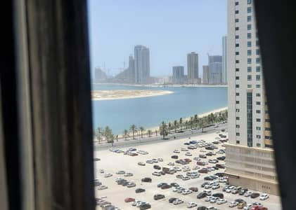 1 Bedroom Apartment for Rent in Al Taawun, Sharjah - Ac free 30 days free 1 BHK only 29000 on main street taawun gym pool free