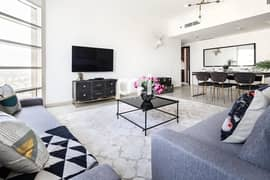 Fully Furnished | Golf Course View | Big Space 2Bed +Maids