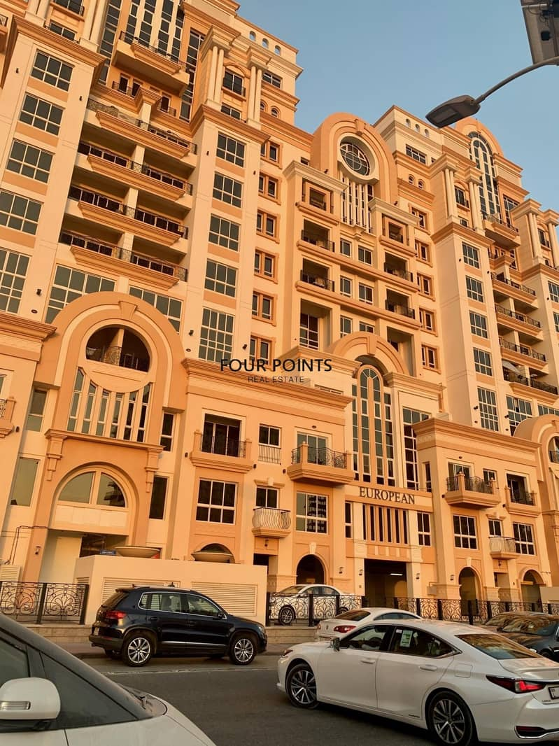 20 European |Canal Residence | 2BR | Sports City