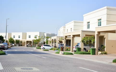 2 Bedroom Townhouse for Sale in Al Ghadeer, Abu Dhabi - HOT DEAL | Single Row Townhouse W/ Nice Garden.