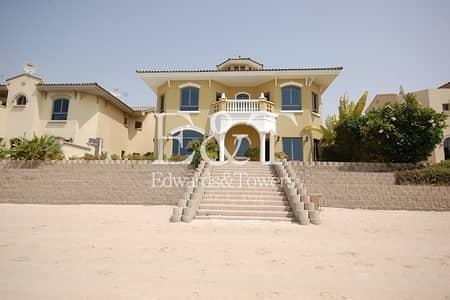 5 Bedroom Villa for Sale in Palm Jumeirah, Dubai - EXCLUSIVE! 5 bedroom villa facing the Atlantis