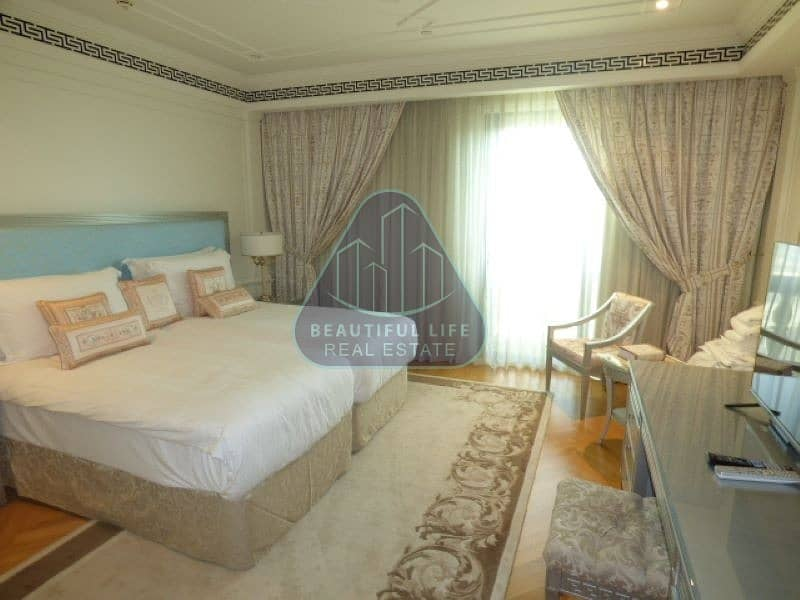 2 Luxurious 2 Bedroom Furnished Apartment in Versace with Hotel Facilities